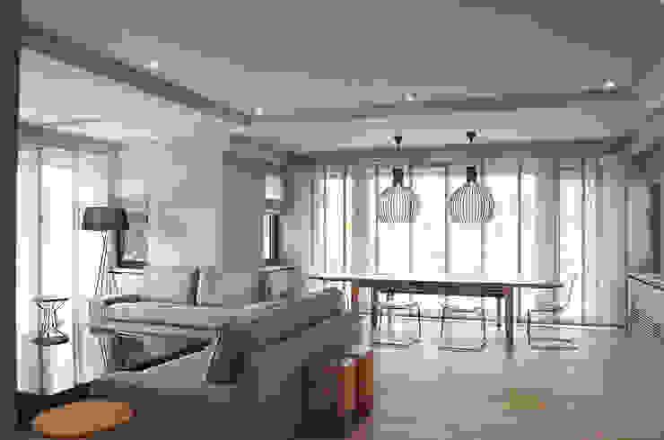 Salon Modern Oturma Odası MONOBLOK DESIGN & INTERIORS Modern