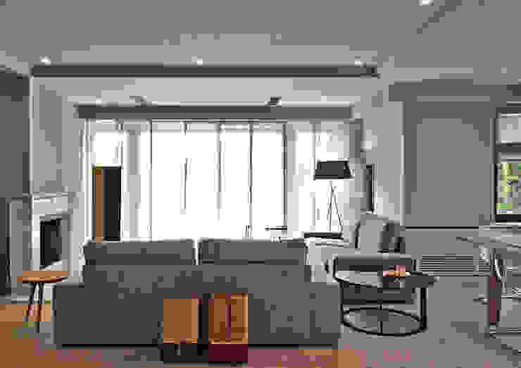 Salon Genel Modern Oturma Odası MONOBLOK DESIGN & INTERIORS Modern