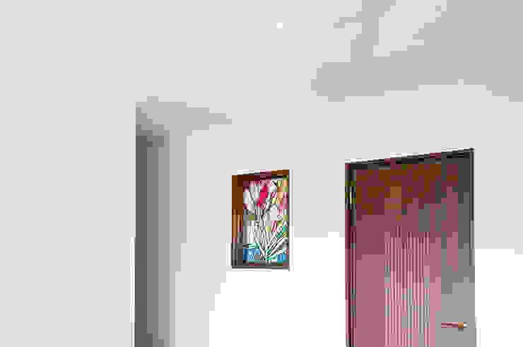 施工写真1 オリジナルデザインの 多目的室 の マルグラスデザインスタジオ オリジナル ガラス
