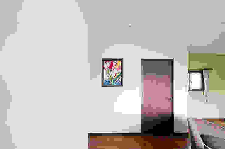施工写真2 オリジナルデザインの 多目的室 の マルグラスデザインスタジオ オリジナル ガラス