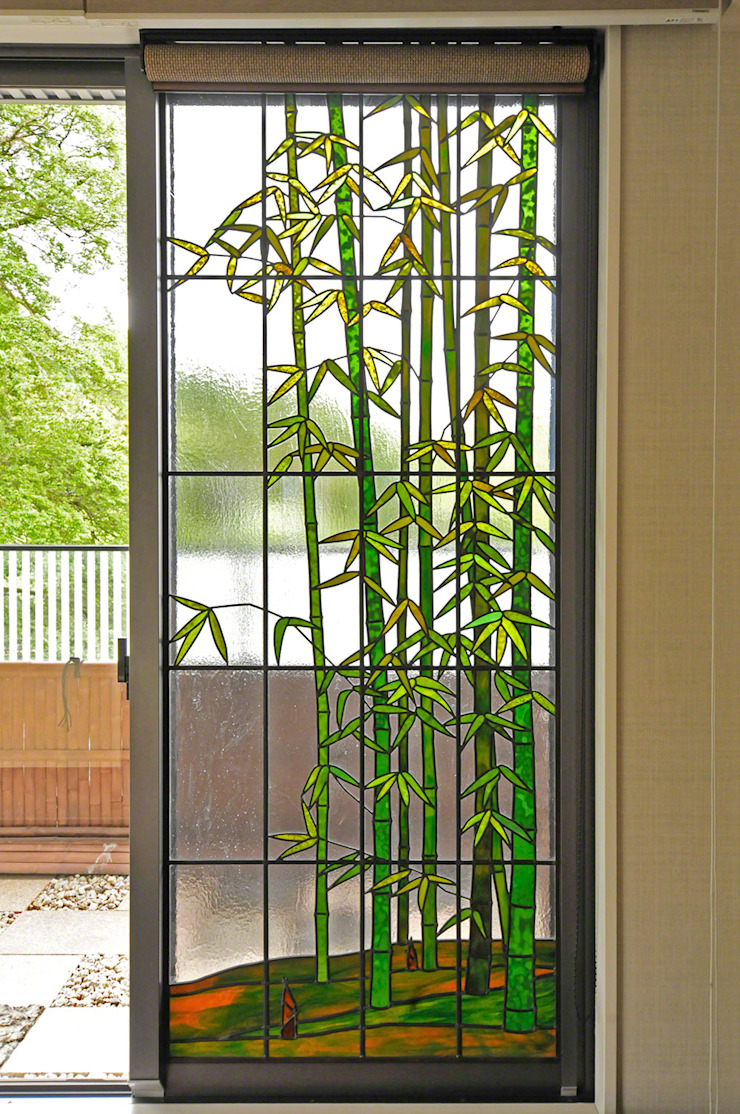 マルグラスデザインスタジオ Balconies, verandas & terraces Plants & flowers Kaca Green