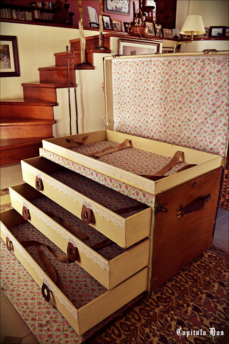 Baúles y valijas de Capítulo Dos Clásico Derivados de madera Transparente
