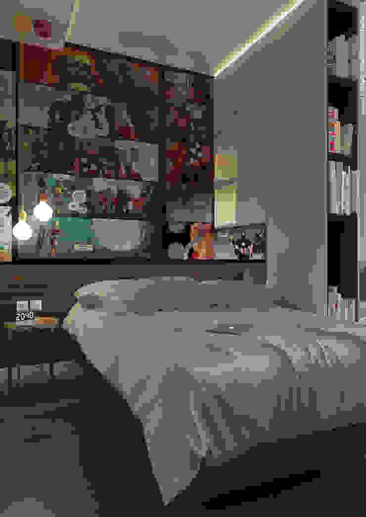 Shevchenko_Nikolay Chambre minimaliste