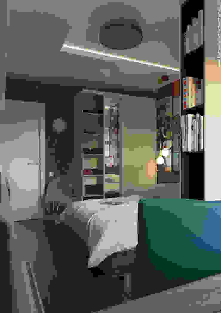 Shevchenko_Nikolay Chambre d'enfant minimaliste