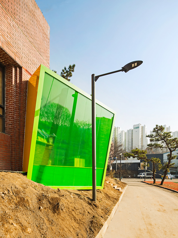 Block Attached Pavilion by 건축공방 'ArchiWorkshop'