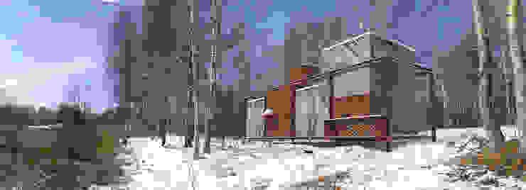 Projekty,  Domy zaprojektowane przez План_Б, Nowoczesny