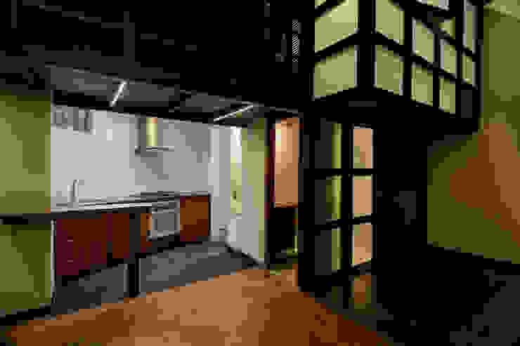 Refurbishment in Teusuillo, Bogotá Modern kitchen by SDHR Arquitectura Modern Iron/Steel