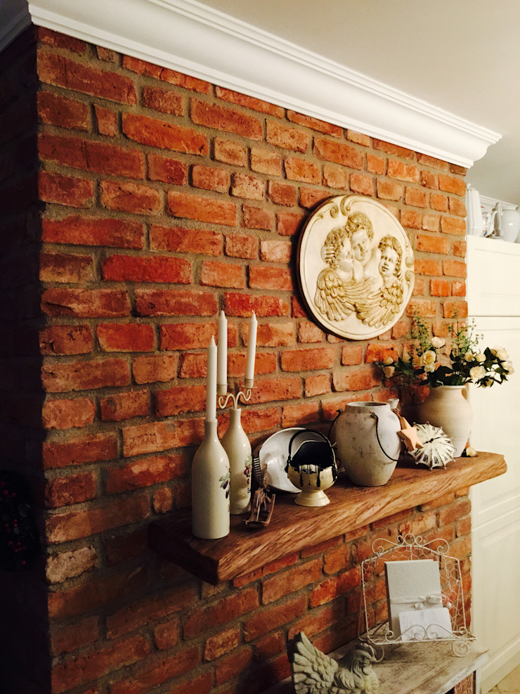 Country style kitchen by miacasa Country Bricks