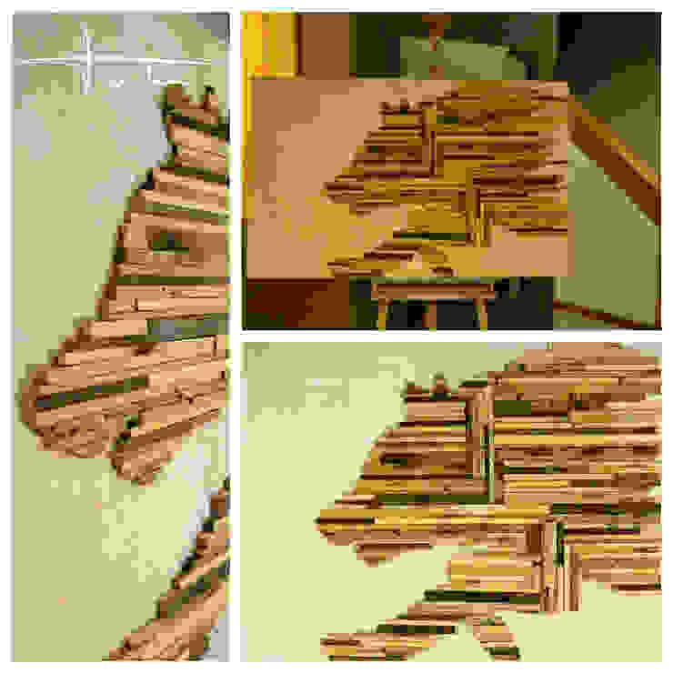 """""""just running"""" por Blue Art Factory Moderno Derivados de madeira Transparente"""