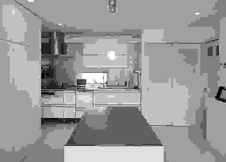 S☆邸 オリジナルデザインの キッチン の 株式会社アマゲロ / amgrrow Co., Ltd. オリジナル