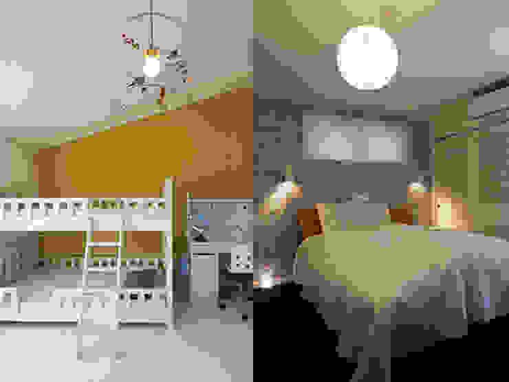 S☆邸 オリジナルスタイルの 寝室 の 株式会社アマゲロ / amgrrow Co., Ltd. オリジナル