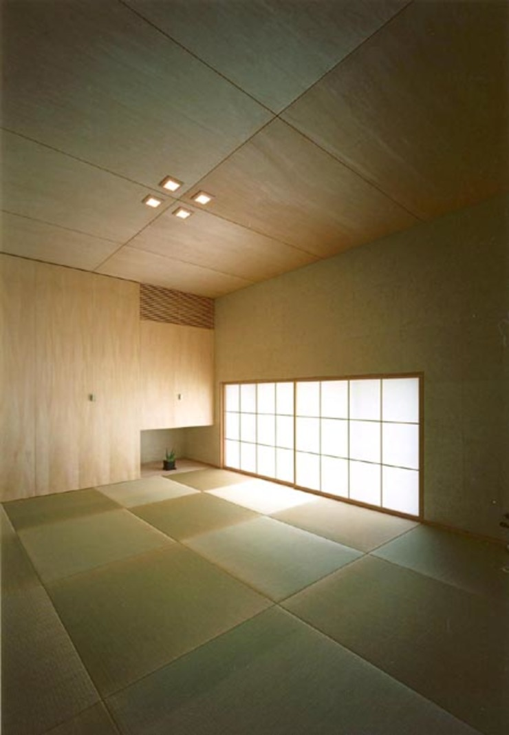 S邸 モダンデザインの リビング の 株式会社アマゲロ / amgrrow Co., Ltd. モダン