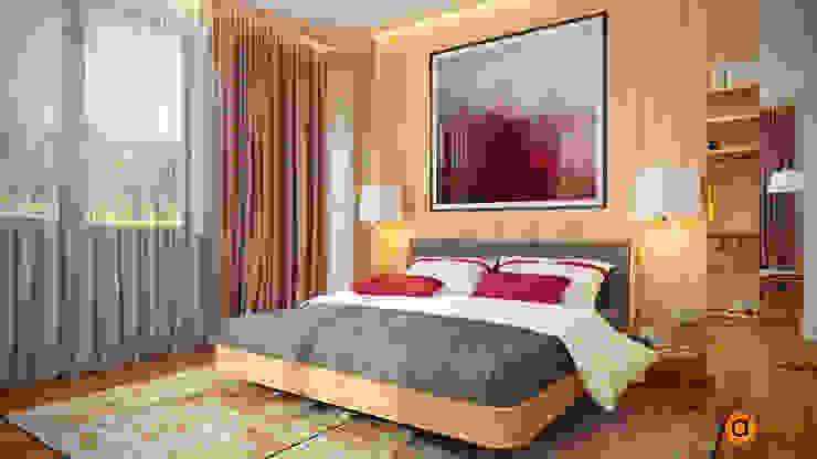 Dormitorios escandinavos de Artichok Design Escandinavo