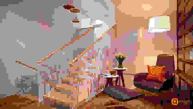 Scandinavische gangen, hallen & trappenhuizen van Artichok Design Scandinavisch
