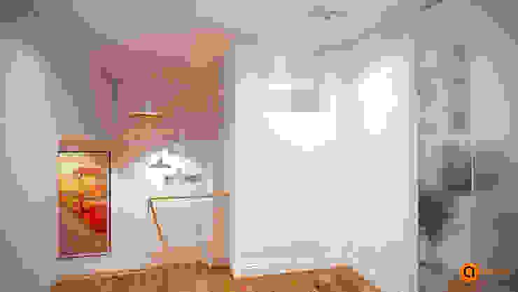Pasillos, vestíbulos y escaleras escandinavos de Artichok Design Escandinavo