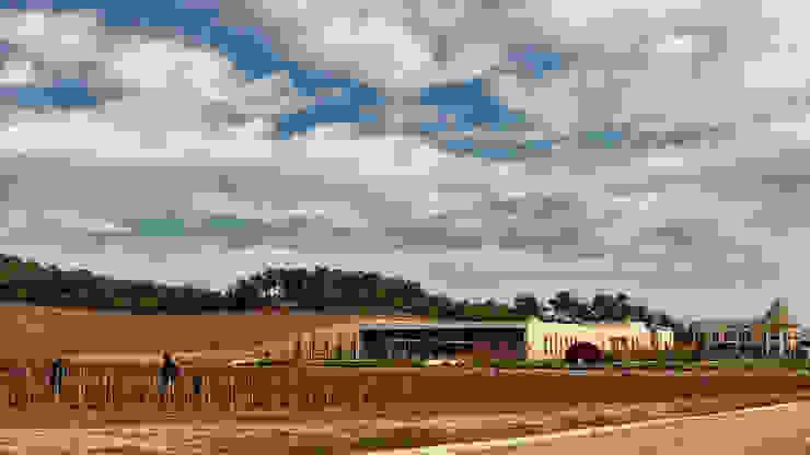 Vinero Şarap Fabrikası Tekeli-Sisa Mimarlık Ortaklığı Endüstriyel
