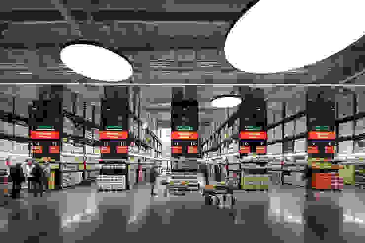 モダンなショッピングセンター の KRAMER GmbH I Ladenbau モダン