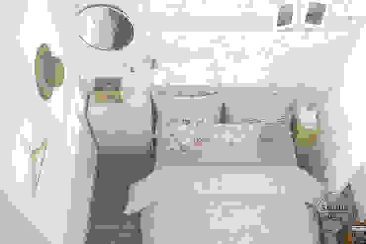 Bielany Skandynawska sypialnia od Studio R35 Skandynawski