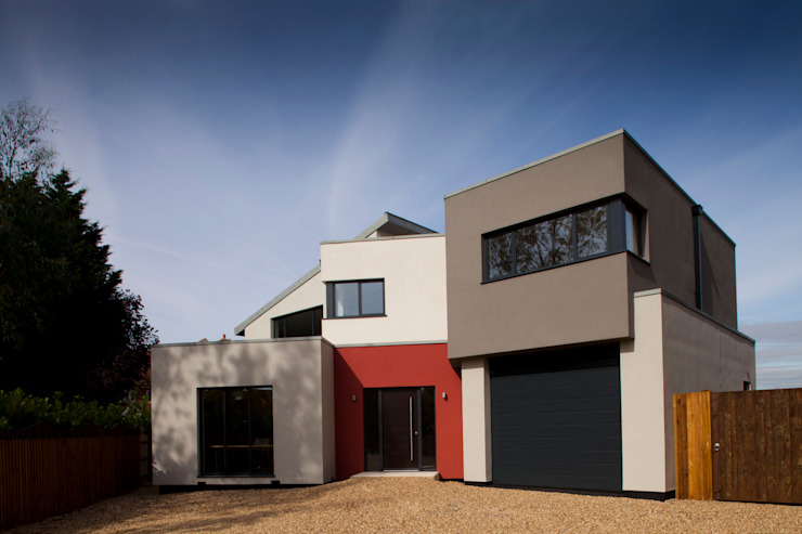 Essex House Moderne huizen van Frost Architects Ltd Modern