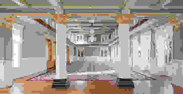 Vidago Palace Hotel Corredores, halls e escadas clássicos por Ferreira de Sá Clássico