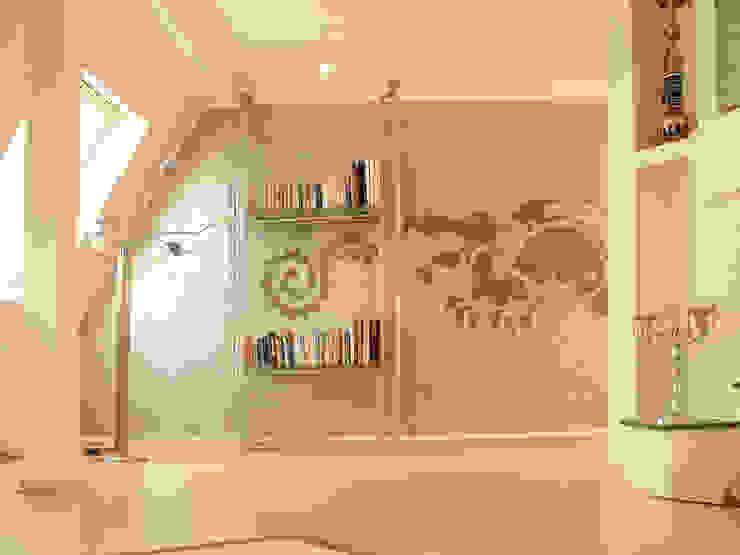 Wandschablone Drache ab-design GmbH Asiatische Wände & Böden