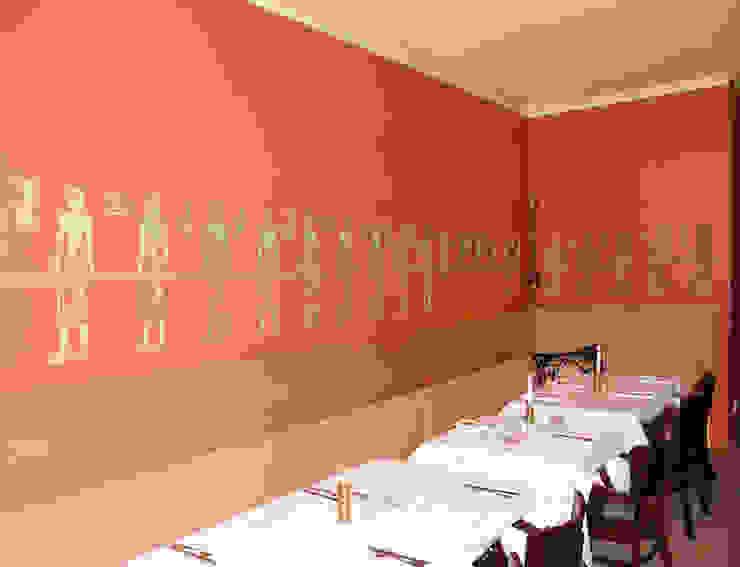 Wandschablone Ägypten ab-design GmbH Klassische Esszimmer