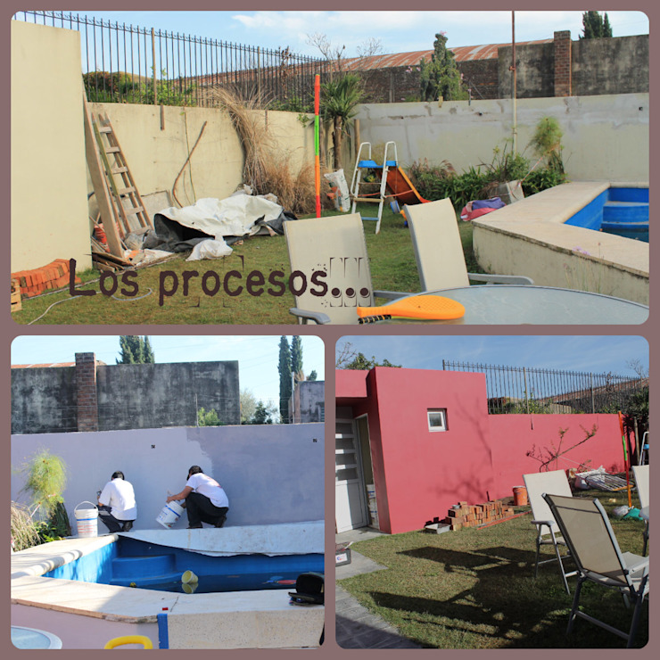 Modern walls & floors by LAS MARIAS casa & jardin Modern