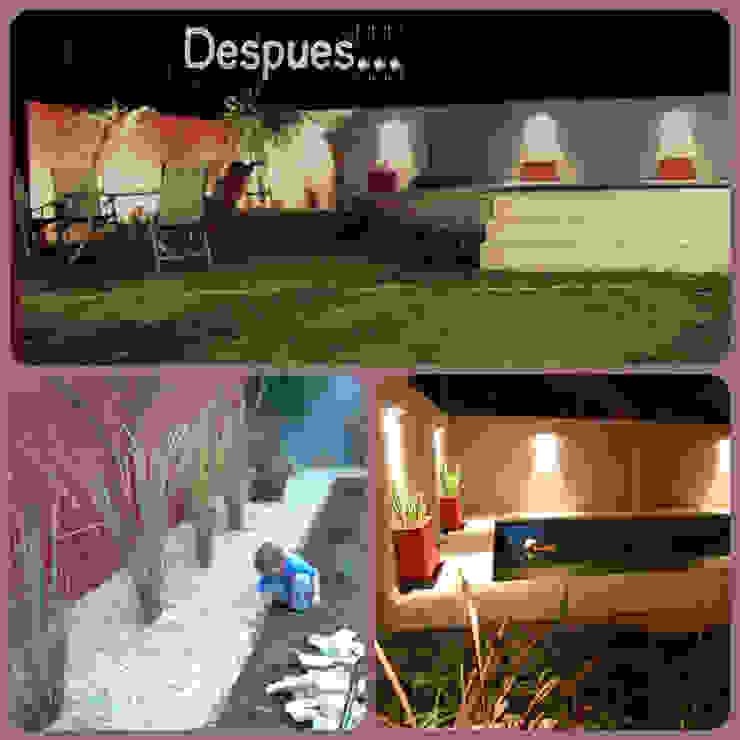 Jardin familiar Jardines modernos: Ideas, imágenes y decoración de LAS MARIAS casa & jardin Moderno