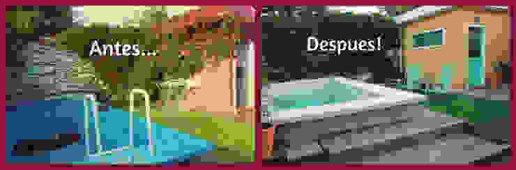 Vườn phong cách hiện đại bởi LAS MARIAS casa & jardin Hiện đại