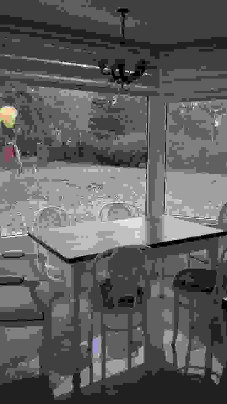 Casa en quinta privada Cocinas modernas: Ideas, imágenes y decoración de LAS MARIAS casa & jardin Moderno