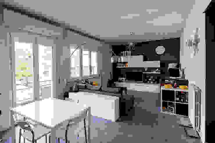 غرفة المعيشة تنفيذ Bartolucci Architetti,