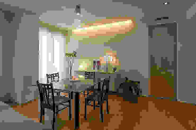 Soggiorno - sala da pranzo Bartolucci Architetti Sala da pranzo moderna