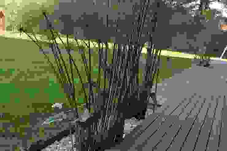 Casa quinta privada Jardines modernos: Ideas, imágenes y decoración de LAS MARIAS casa & jardin Moderno