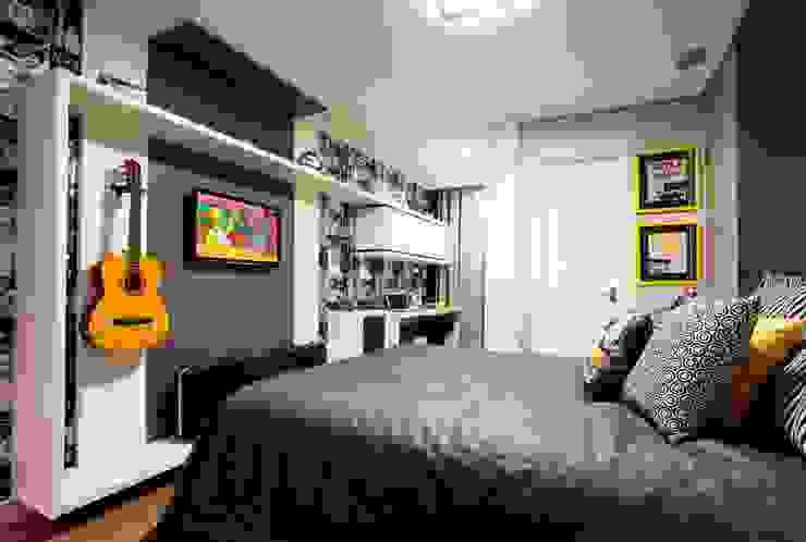Suite Rapaz 02 Quartos modernos por LimaRamos & Arquitetos Associados Moderno