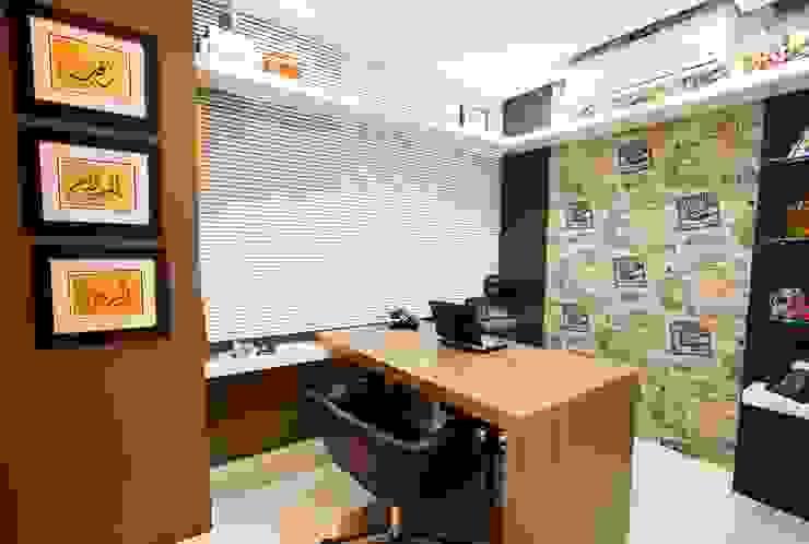 LimaRamos & Arquitetos Associados Modern Study Room and Home Office
