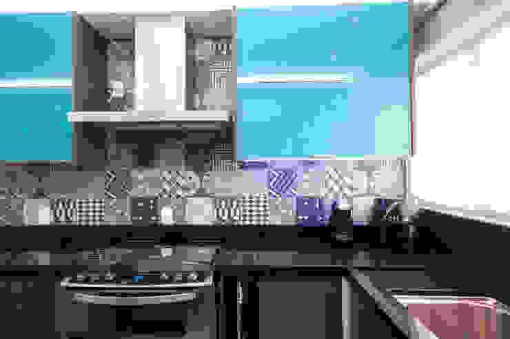Cozinha Cozinhas modernas por Haus Brasil Arquitetura e Interiores Moderno