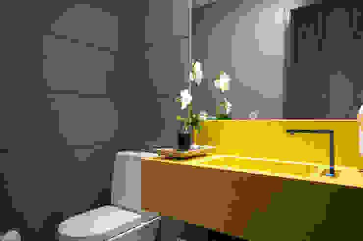 Lavabo Banheiros modernos por Haus Brasil Arquitetura e Interiores Moderno