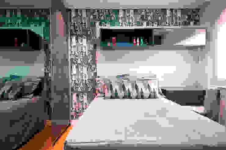 Suíte Filho Quartos modernos por Haus Brasil Arquitetura e Interiores Moderno