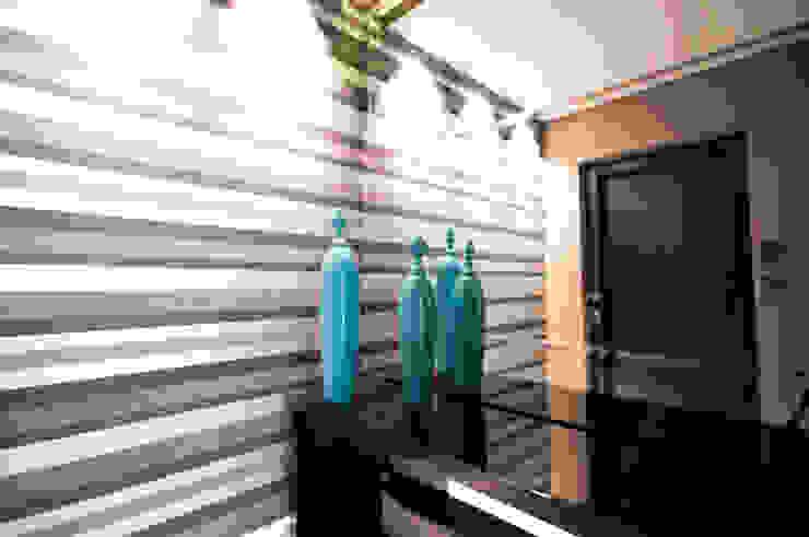 Hall de Entrada Salas de estar modernas por Haus Brasil Arquitetura e Interiores Moderno