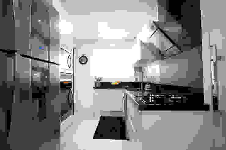Cozinha Cozinhas ecléticas por Haus Brasil Arquitetura e Interiores Eclético