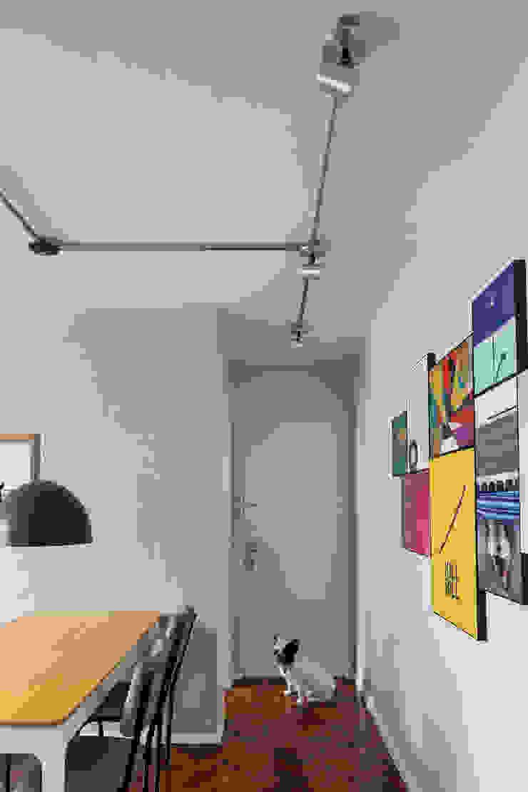 Apartamento FV Salas de jantar industriais por BEP Arquitetos Associados Industrial