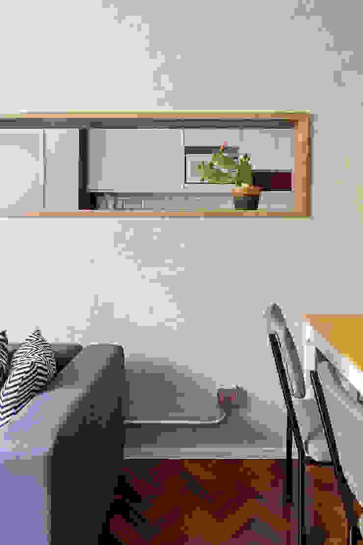 Livings de estilo industrial de BEP Arquitetos Associados Industrial