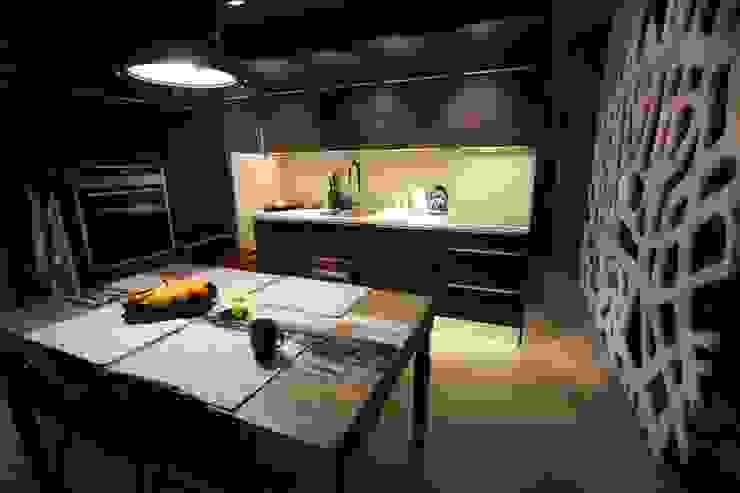 Kuchnia Nowoczesna kuchnia od projektowanie wnętrz Nowoczesny