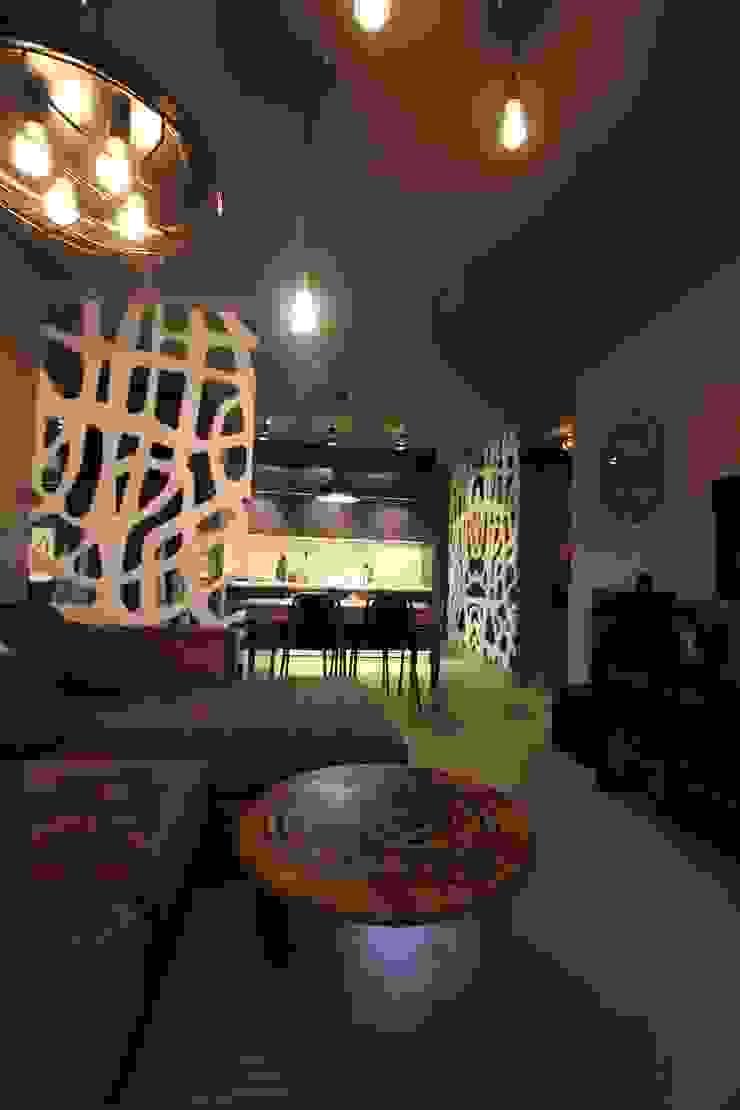 pokój Nowoczesny pokój multimedialny od projektowanie wnętrz Nowoczesny