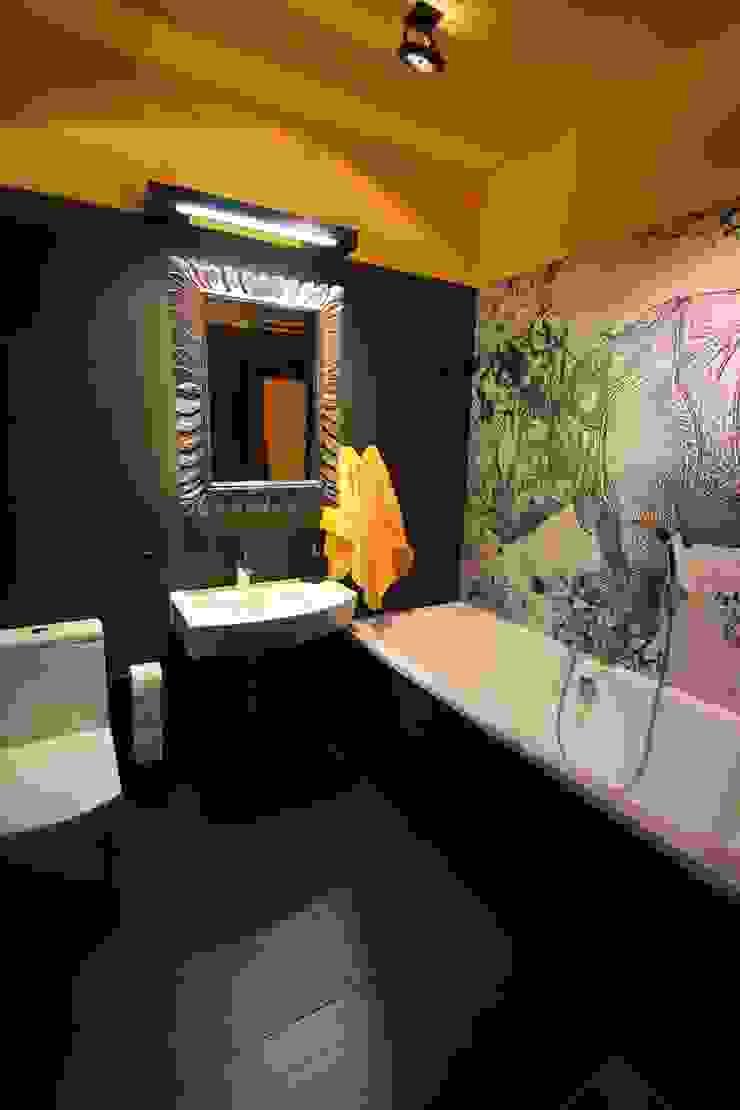 łazienka Nowoczesna łazienka od projektowanie wnętrz Nowoczesny