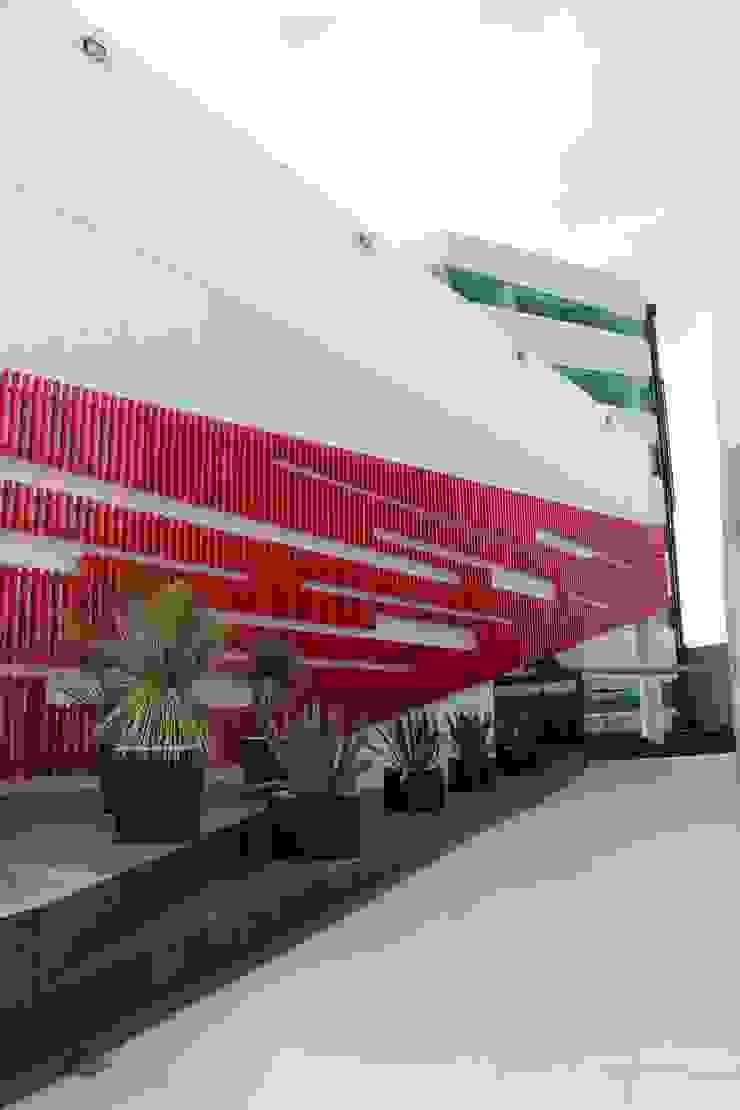 CASA DEL SERVIDOR PÚBLICO MEXIQUENSE Casas minimalistas de AR+D arquitectos Minimalista