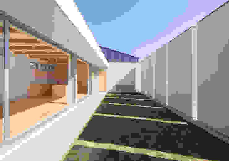 ライトコート モダンな庭 の アトリエ24一級建築士事務所 モダン