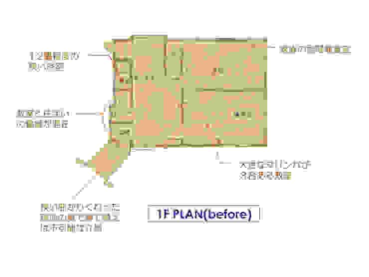 Phòng ăn phong cách chiết trung bởi 豊田空間デザイン室 一級建築士事務所 Chiết trung Gỗ Wood effect