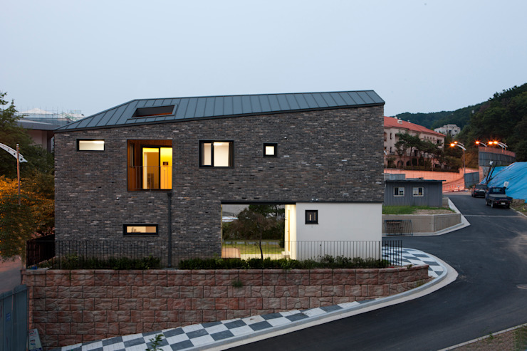 리슈건축 現代房屋設計點子、靈感 & 圖片