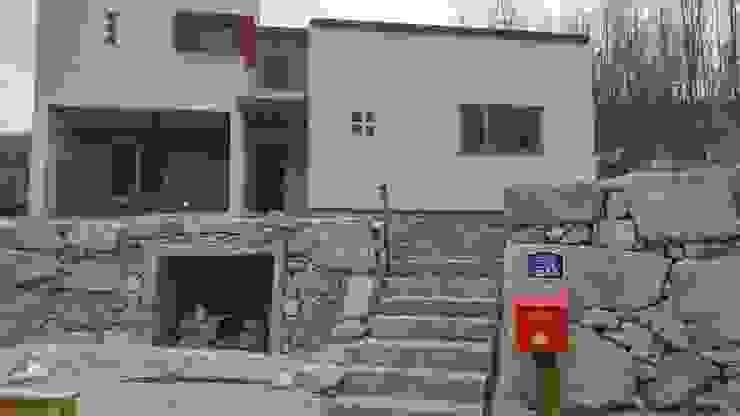 Projekty,  Domy zaprojektowane przez 봄 하우스플랜 , Nowoczesny